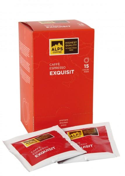 ALPS Coffee Espresso Exquisit 15 Pods