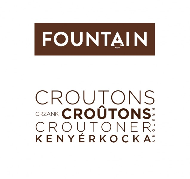 Croûtons port. in Box 100 Stck. a 6,5gr